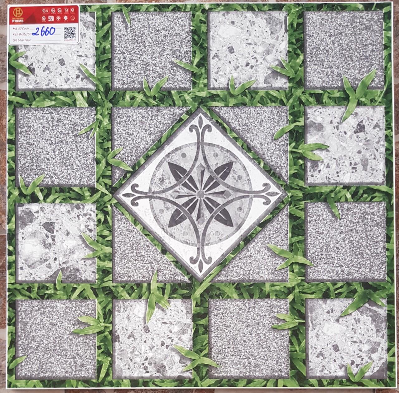 Gạch lát sân vườn 50x50 Prime mã 2660 loại A1