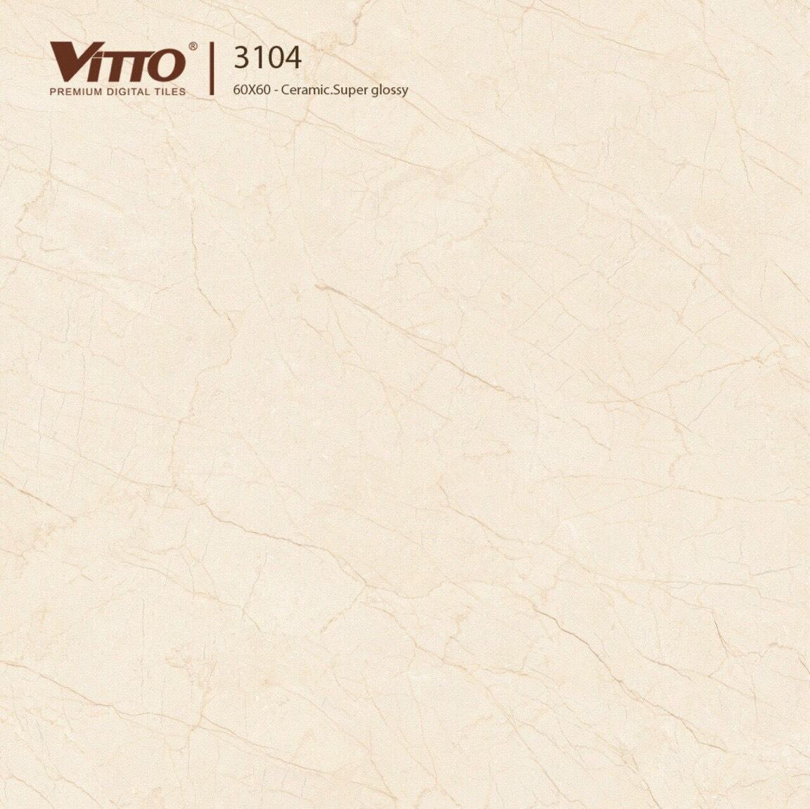 Gạch lát nền 600x600 Vitto mã 3104 loại A1