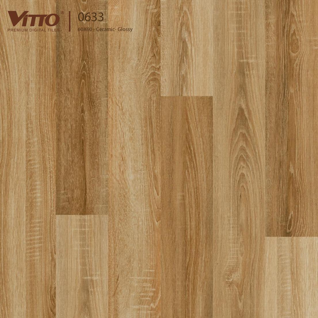 Gạch lát nền giả gỗ 60x60 prime mã 633 loại A1